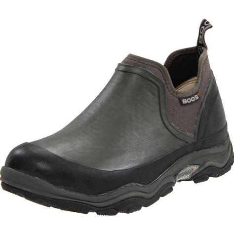 mens bogs boots bogs mens bridgeport waterproof hiking shoe in gray for