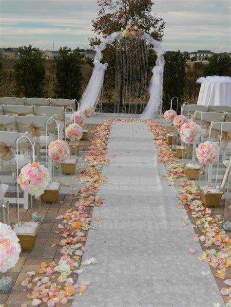 wedding aisle ideas 69 outdoor wedding aisle decor ideas happywedd
