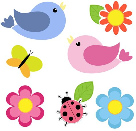 clipart flower birds and flowers clip cliparts