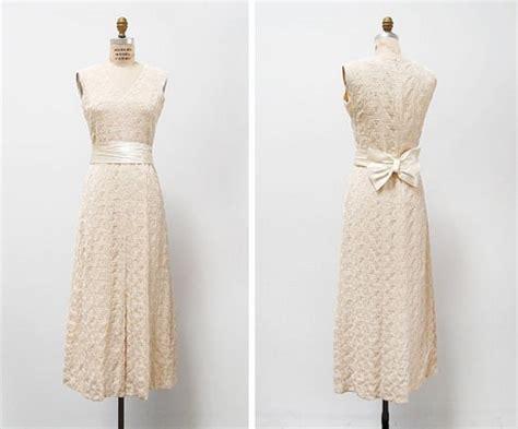 Hochzeit 90er by Vintage Kleid Hochzeit