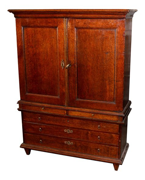 mahogany linen press cabinet chairish