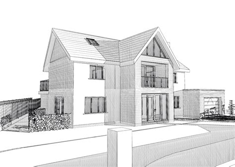 house architecture drawing sketches houses plan sketching home design sketch plans