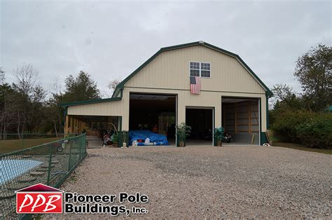 40 X 80 Pole Barn 40 w x 80 l x 14 h id 401 total cost contact us pioneer pole buildings