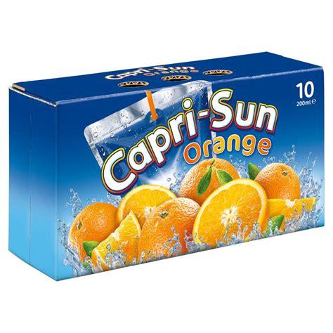 Capri Sun Juice Drink Orange 10 x 200ml   Fruit Juice   Soft Drinks   Drinks   Iceland