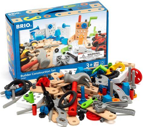 brio toy company brio builder construction set 135 piece toy play gift