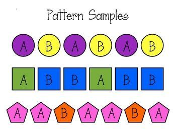 15 simple ways to teach patterns to preschoolers the maths patterns for kindergarten 1000 ideas about