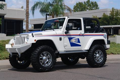 postal jeep wrangler 2008 jeep wrangler custom us mail tribute 60602