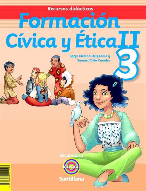 moral y civica libro calam 233 o formacion civica y etica ii