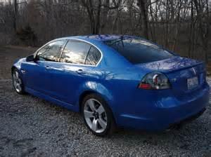 Pontiac G8 Blue Pontiac G8 Stryker Blue Paint Code