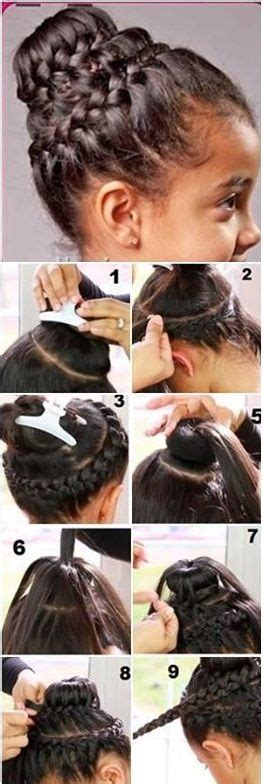 donut with a braid around it 123 best images about hairstyles on pinterest nail art