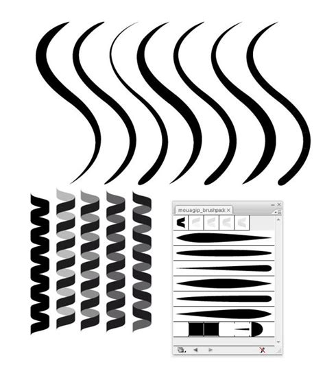 design illustrator free download 50 illustrator brushes for download