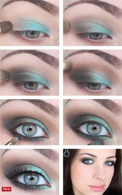 tutorial eyeshadow green 12 makeup tutorials for blue eyes