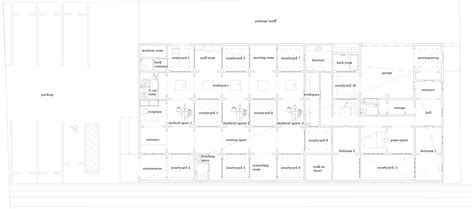 Floor Plan Dental Clinic Chiyodanomori Dental Clinic Hironaka Ogawa Archdaily