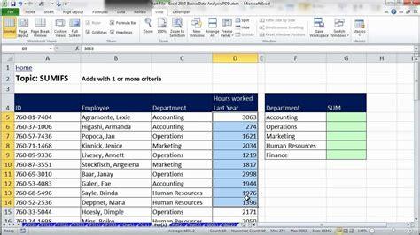 tutorial excel filter excel data analysis sort filter pivottable formulas