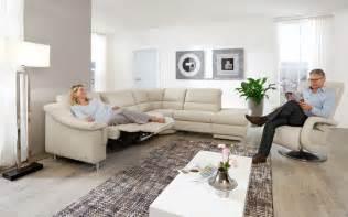 comfortmaster sofa moderne ledersofas m 246 bel br 252 gge
