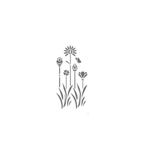 dekor schablone dekor schablone xl motiv flora xl 4