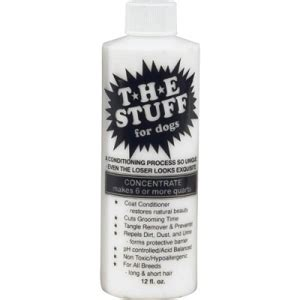 leave in conditioner for dogs the stuff conditioner for dogs 12 oz vetdepot