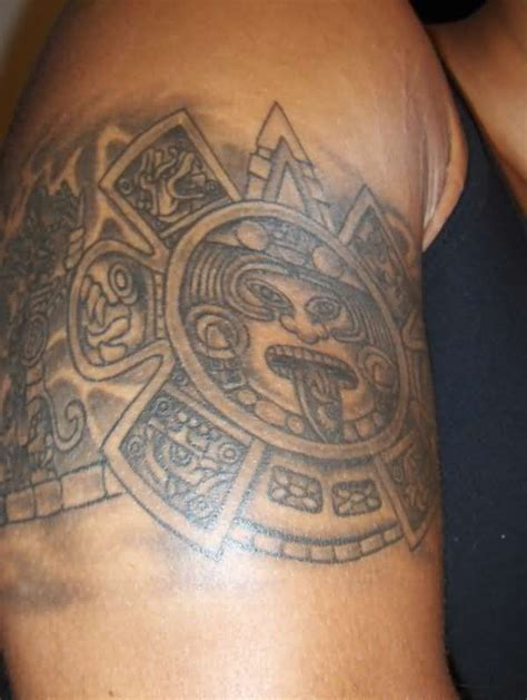 aztec cross tattoo aztec armband