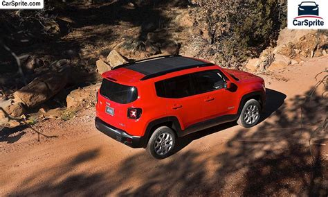 Jeep Renegade Cost Jeep Renegade 2016 Prices And Specifications In