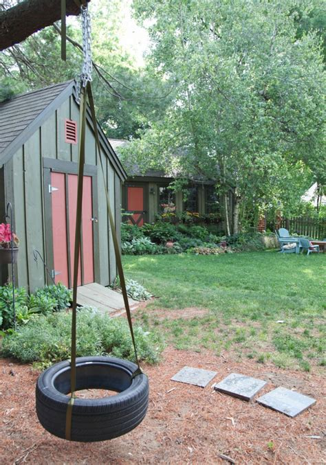 how to hang a tire swing without a tree better homes and gardens style spotters decorating blog
