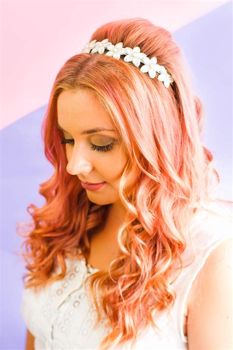 Wedding Hairstyles Half Up Half With Headband And Veil by How To Wear Wedding Headband With Hairstyle Wedding