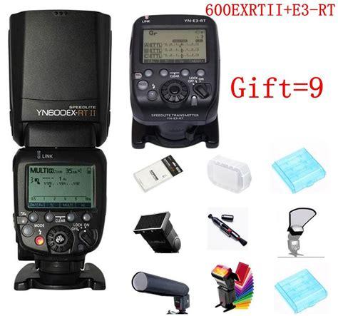 Yongnuo Yn600ex Yn 600ex Yn 600 Ex Rt Second fast shipping yongnuo yn600ex rt ii yn e3 rt master flash speedlite for canon rt radio trigger