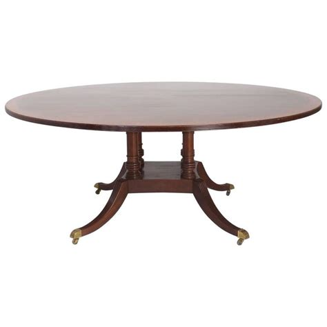 Sheraton Dining Table Sheraton Style Mahogany Dining Table For Sale At 1stdibs
