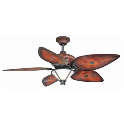 Home Depot Outdoor Ceiling Fan by Hton Bay San Lucas 56 In Indoor Outdoor Iron