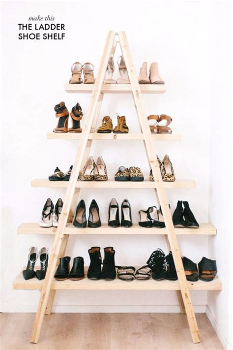 ten genius do it yourself ways to store your shoes