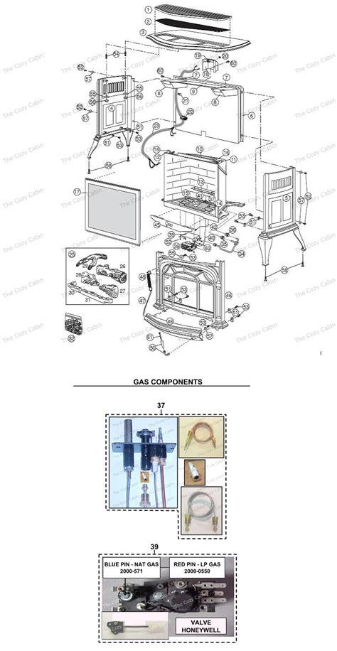 ruvs40 radiance vent free gas heater 0002750 0002756