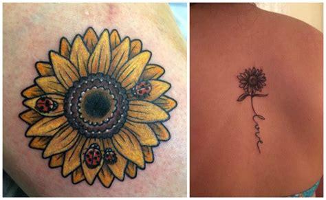 imagenes de tatuajes de girasoles tatuajes de girasoles y sus significados curiosos y