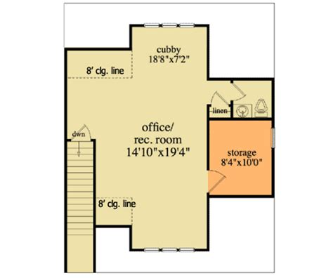 detached home office plans detached garage plan with office 29867rl 2nd floor
