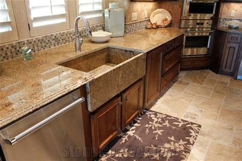 mascarello granite kitchenn countertop farm sink