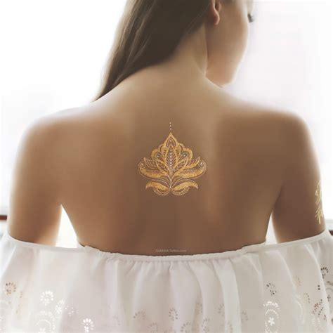 henna tattoo gold gold and silver henna design flash metallic gold
