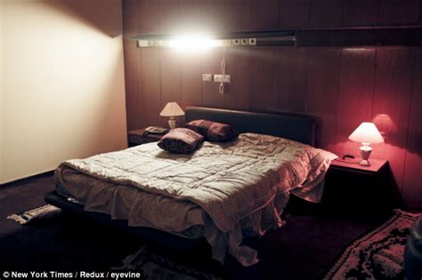 sexuality in bedroom uncovered the macabre sex chamber of libya s colonel gaddafi where he raped girls