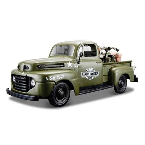 maisto ford   pickup harley davidson model araba