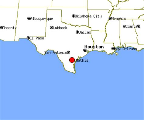 mathis texas map mathis profile mathis tx population crime map