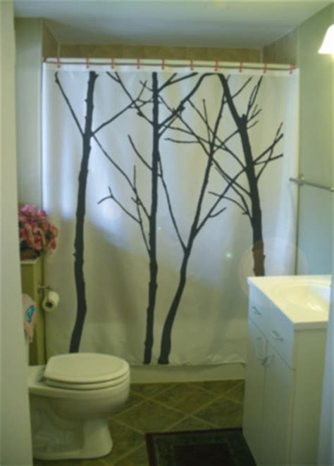 tree branch shower curtain shower curtain winter tree scape silhouette branch twig