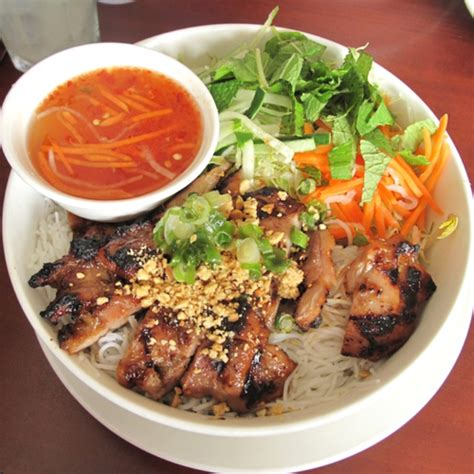 Bun Thit Nuong by Bun Thit Nuong A Fresh Cool Summer Dish From