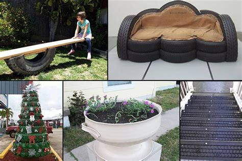 how to diy old tire garden ideas recycled backyard cool 20 brilliant ways to reuse and recycle old tires home