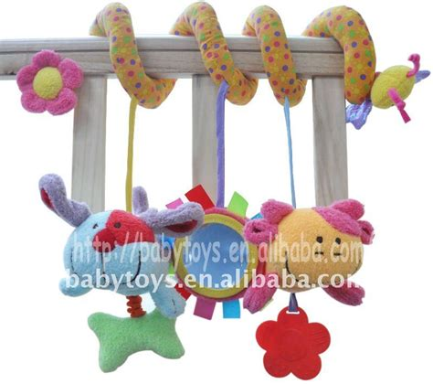 Musical Baby Toys For The Crib Discovery Activity Musical Sprial Baby Crib Toys Baby Bed