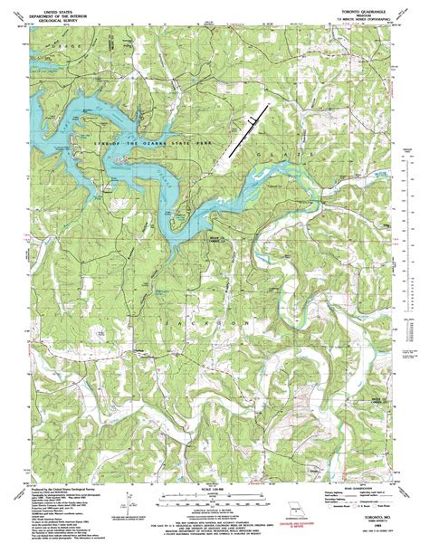 usgs topographic map toronto topographic map mo usgs topo 38092a5