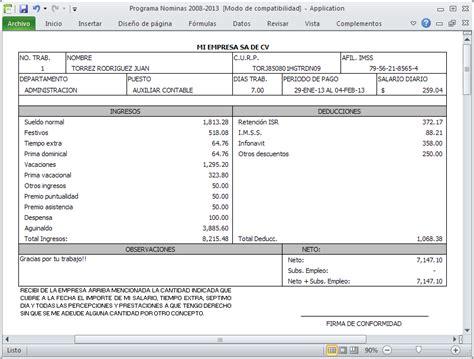 recibos de pago de nomina del gobierno de la ciudad de mexico compuirapuato