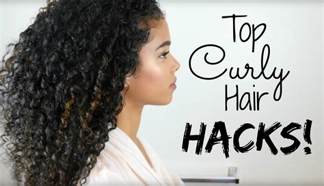best hacks my top curly hair hacks tips tricks
