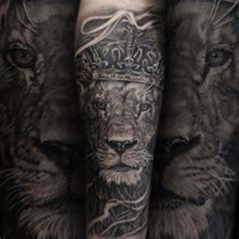 compass lion tattoo full sleeve bng style tattoo justitia guardian angel