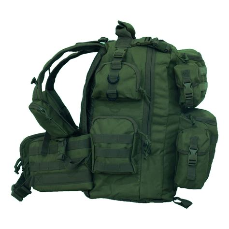 3 day backpack every day carry ultimate 3 day tactical backpack hydration ready molle system ebay