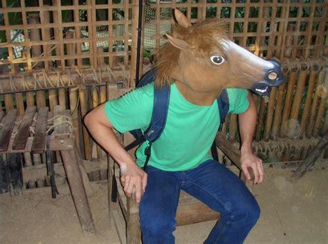 Horse Mask Meme - image 366844 horse head mask know your meme
