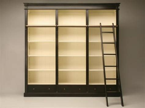17 best ideas about bookcase with ladder on