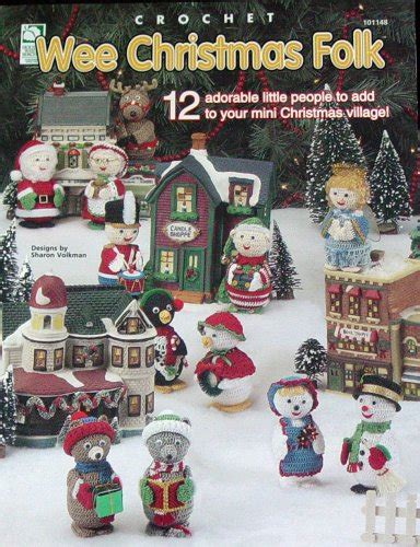 christmas village tree display pattern quick and easy christmas gifts to make holiday crochet