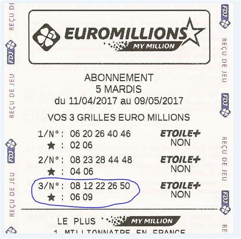 Prix Grille Euromillions by Gagner Au Loto Et 224 Millions Syst 232 Me Loto Comment